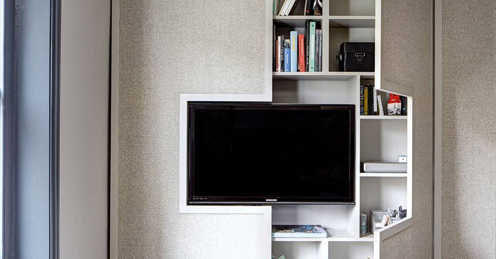 Wall Tv Cabinet Storage Small Space Flat Design Ideas