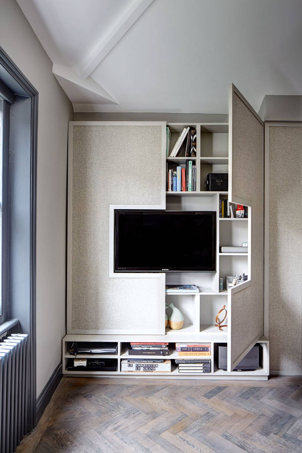 Wall Tv Cabinet Storage Small Space Flat Design Ideas House Garden