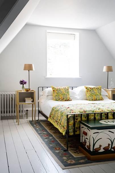Hygge: White Attic Bedroom