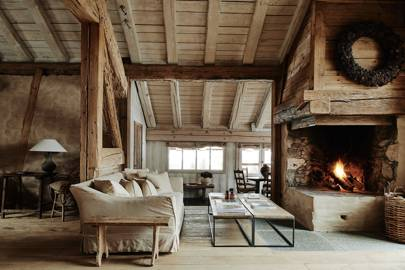 Open Fire Sitting Area - Belgian Family Home & Alps Chalet