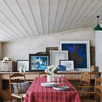 Rustic Farmhouse - Dining Room Ideas – Decorating, Design & Wallpaper