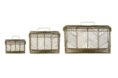December 24: Kelly Hoppen Maze Storage Baskets (set of three), £75
