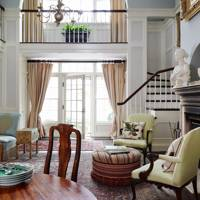 Drawing Room Balcony - Architects' Manhattan Home