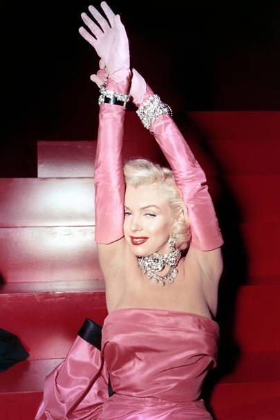 Marilyn Monroe singing 'Diamonds Are a Girl's Best Friend' in Gentlemen Prefer Blondes