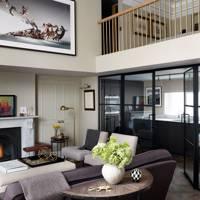 Living area & mezzanine