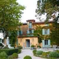 Domaine de la Baume: Back