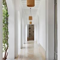 Walkway - Moroccan House