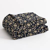 April Linen/Cotton Quilted Throw, £67