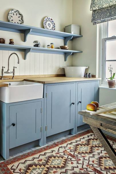 Country Kitchens | Images, Design and Ideas | House & Garden on blue kitchen wallpaper ideas, rooster kitchen decorating ideas, kitchen cabinet paint color ideas, blue country kitchens, blue home decor ideas, blue kitchen accessories, blue kitchen design ideas, blue kitchen sink, blue kitchen colors, blue kitchen decor, blue and yellow kitchen themes, black and blue living room ideas, blue kitchen countertop, orange n blue food ideas, blue and white kitchen designs, blue kitchen decorating ideas, painted kitchen cabinet ideas, country kitchen ideas, vineyard kitchen ideas, blue painted kitchen cabinets,