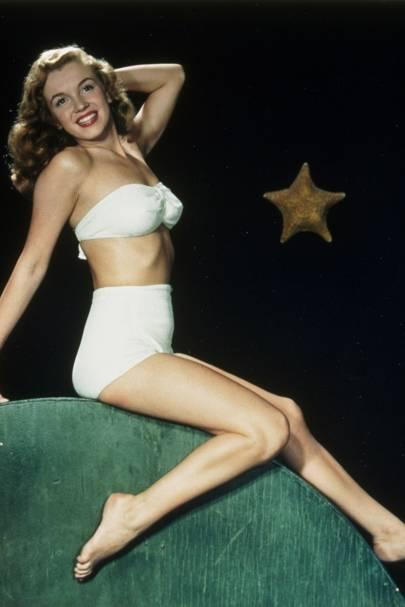 Film stills of Marilyn Monroe, 1949