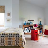 Welsh quilt bedroom