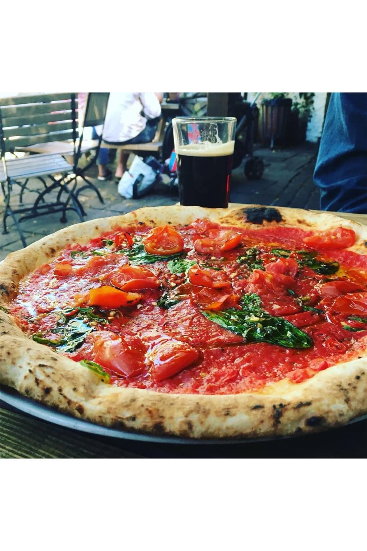 Best Pizza In London House Garden