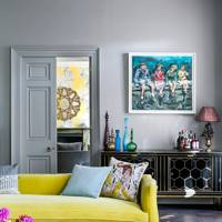 Yellow Sofa - Somerset Country House
