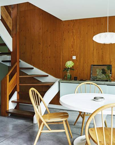 The dining room of Charlene Mullen's London home