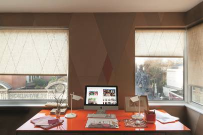 Desk Area - Ashely Hicks Bright London Flat