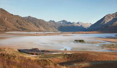 Splendid isolation at The Lindis, a new superlodge on New Zealand's South Island