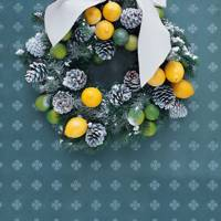 Lemon And Lime Wreath