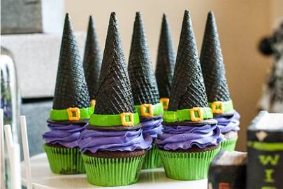 Wafer Cone Witch Hats