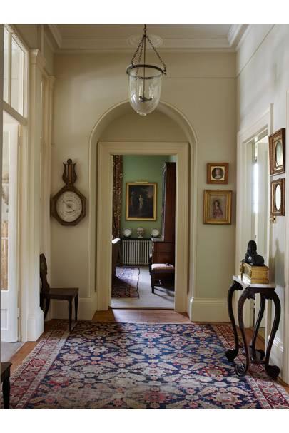 Hallway Door - Traditional Cornwall House