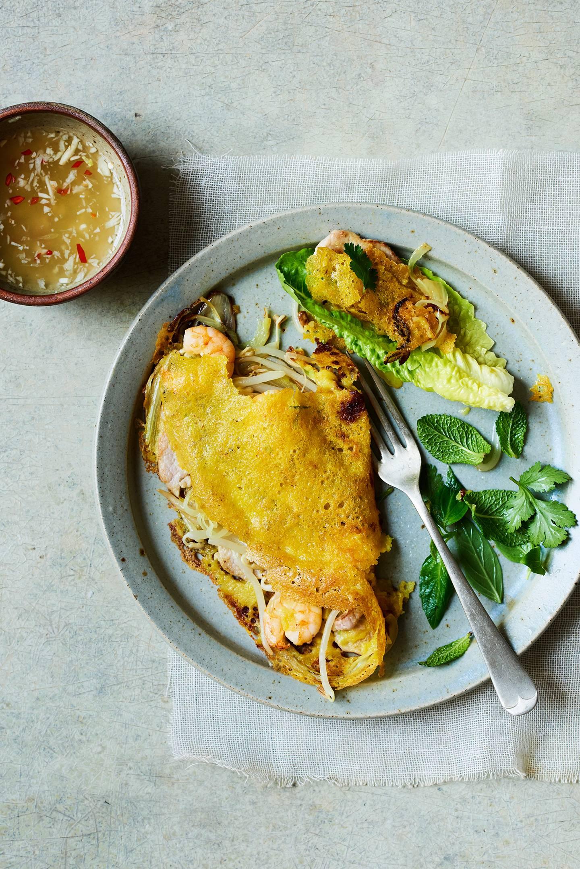 Vietnamese pancake (Bahn Xeo)