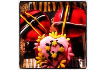 Nirvana In Utero Cupcakes