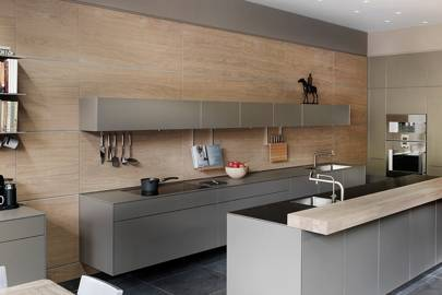 Superieur ... Bulthaup Kitchen; She Sought Something With More Texture And Warmth    Is Resolved In A Perfect Compromise, Executed By Bulthaup By Kitchen  Architecture.