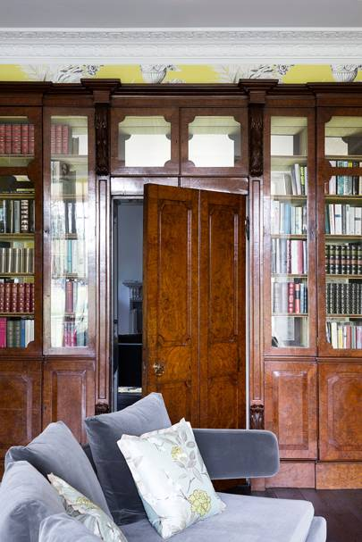 Grey Sofa Library - Somerset Country House