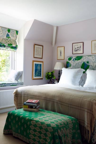 Green Spare Bedroom