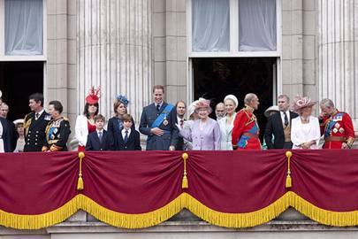 Spotted: The trim on the royal balcony by Jessica Light