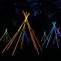 Coloured Teepee Lights