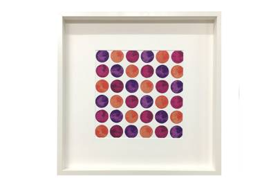October 22: Erskine Rose Nirvana Print 30x30, £75