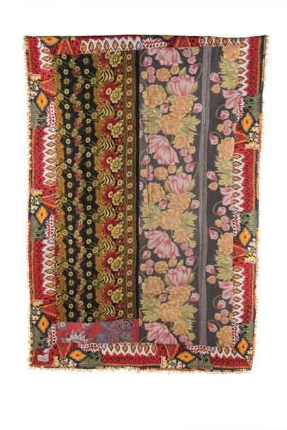 Vintage Fusion Kantha Quilt