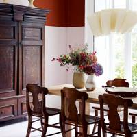 Terracotta Panel Dining Room