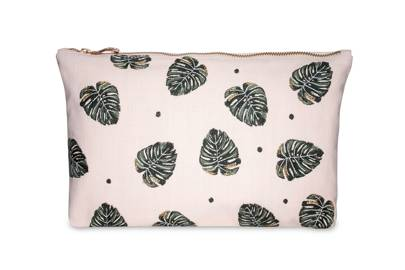 July 1: Elizabeth Scarlett Jungle Leaf Rose Pouch, £20