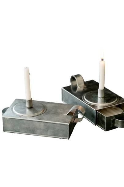 Thora Rustic Candle Holder
