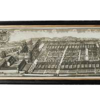 Architectural Palace and Garden Print