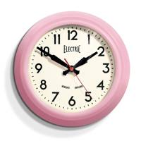 Pink Electric Clock