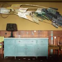 A recycled bar