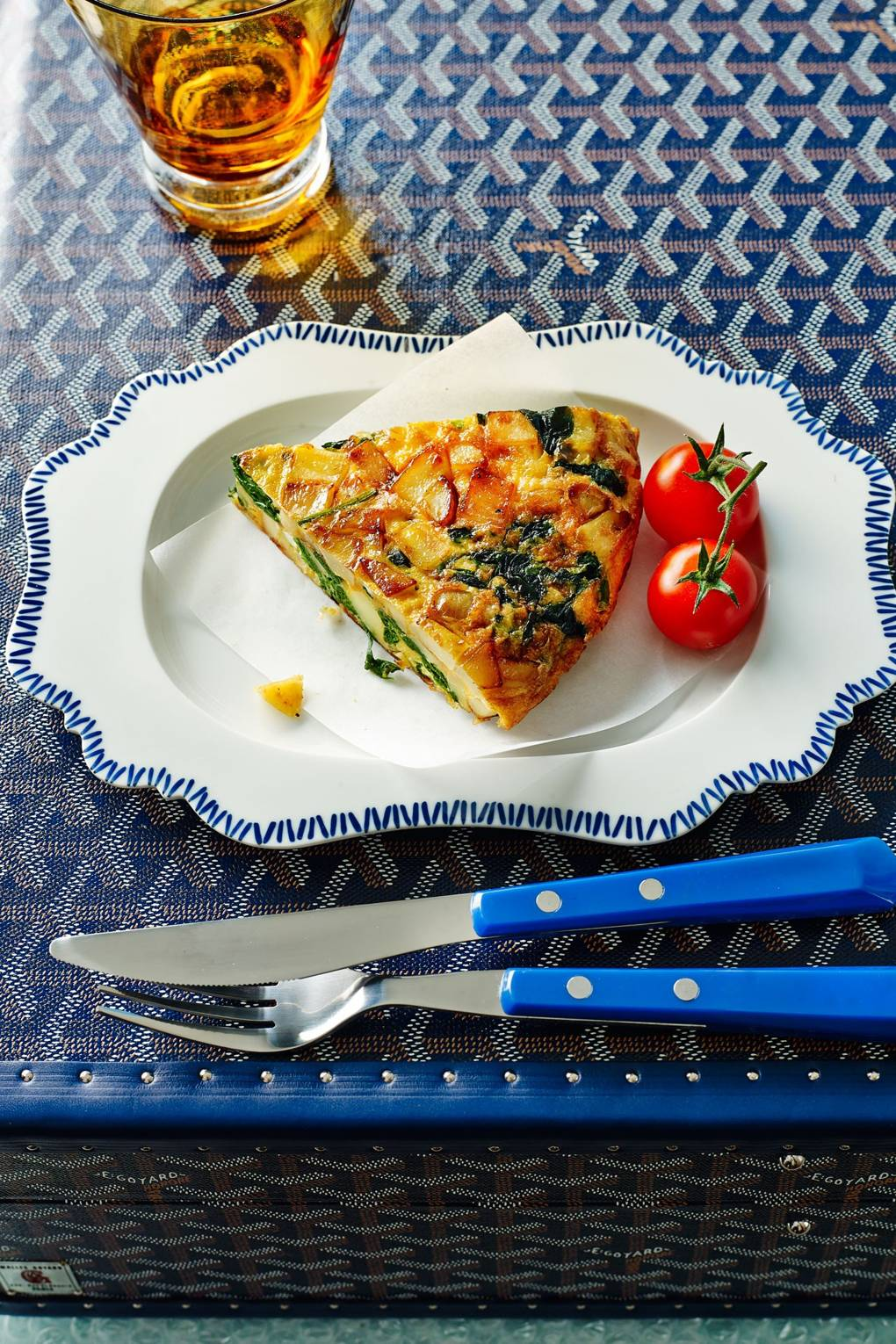 Frittata Recipe With New Potato And Spinach House Garden