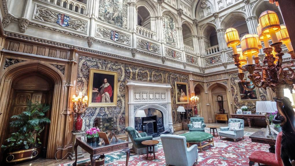 Countess of Carnarvon talks Highclere Castle and the Downton Abbey Film