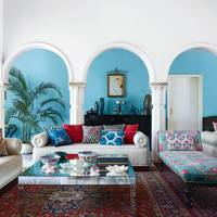 Colours of India - Blue Living Room Ideas