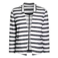 Striped Boxy Jacket