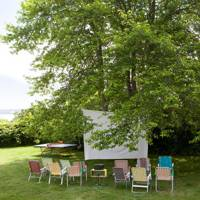 DIY Outdoor Cinema - Garden Party Ideas