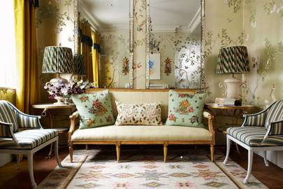 Metallic Chinoiserie