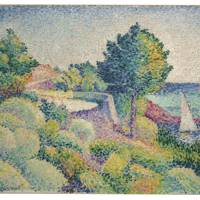 HENRI-EDMOND CROSS (1856–1910) Route du Lavandou vers Saint-Clair