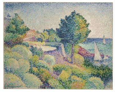 HENRI-EDMOND CROSS (1856–1910) Route du Lavandou vers Saint-Clair