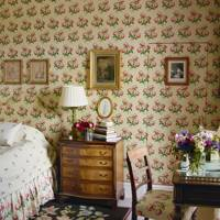 Small Chintz Bedroom