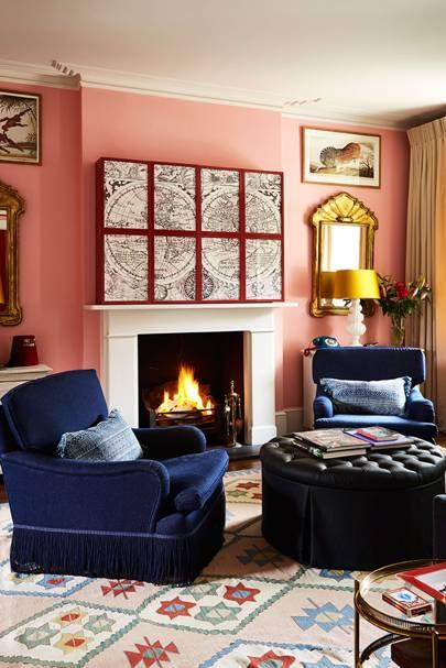 Concealed Television   Living Room Design Ideas