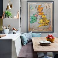 Banquette Seating - Nicole Salvesen London Family Home