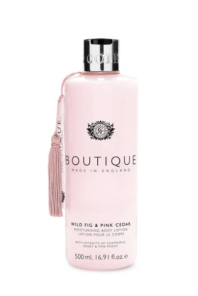 August 26: Boutique Wild Fig & Pink Cedar Body Lotion, £6